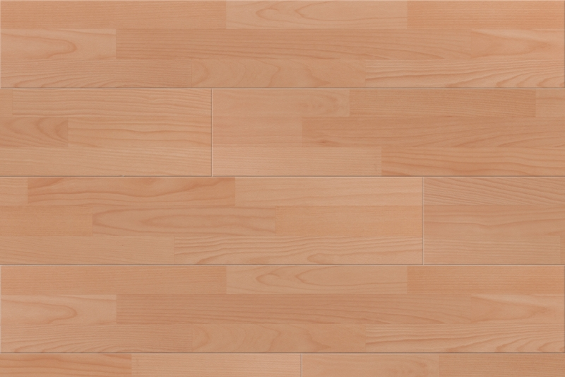 Universal Easy Click Natural Beech 3 Strip Laminate