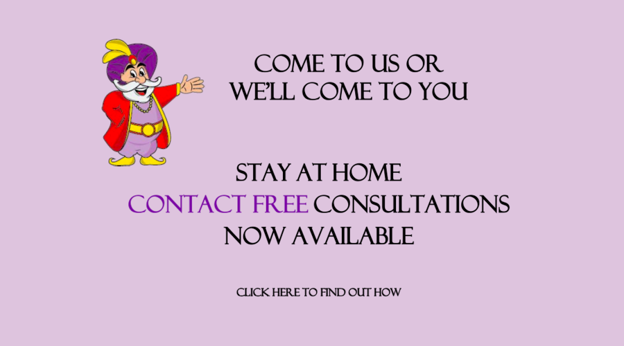 STAY AT HOME - CONTACT FREE CONSULTATION